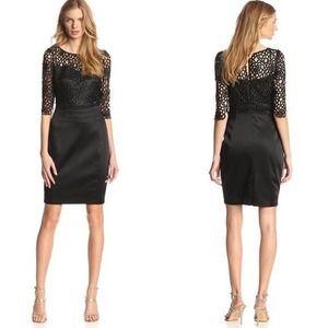JAX Studio Black Lace Cocktail Dress Size 14